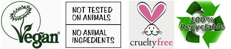 our products are not tested on animals
