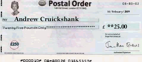 how to use postal order