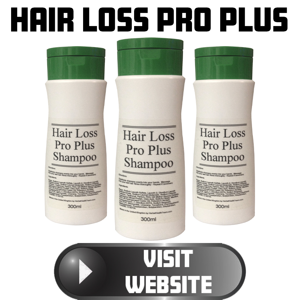Hair loss pro plus shampoo treatment for male and female